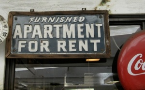 Apartment for rent furnished