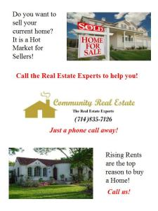 Do You Want to Sell or Buy a New Home?